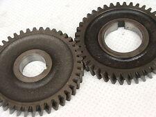 Aprilia RSVR RSV Mille Tuono clutch crank end balance shaft/timing gear pair