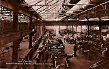 More details for barrow-in-furness cumbria ww1 vickers naval works lathes munition girl 1915 rppc
