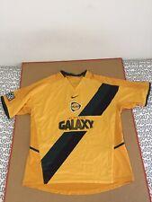 LA Galaxy soccer jersey NIKE MLS usa vtg yellow gold los angeles Gordon 2004