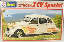 REVELL 7261 - CITROEN 2 CV Spezial - 1:24 - Auto Modellbausatz Car Kit - Bausatz