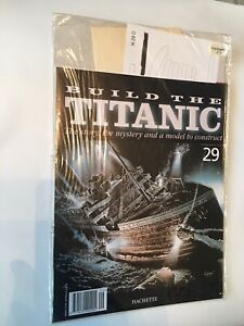 1/250 Hachette Build The Titanic Model Ship Issue 29 Inc Part Pictured.