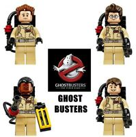 4Pcs Super Heroes Ghostbusters Weapon Building Blocks Toys Children New 2019