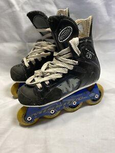 Mission Proto SI Violator Hi-Lo Roller Inline Hockey Skates Size 2 C5