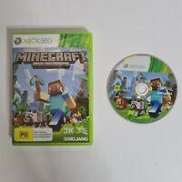 Minecraft Xbox 360 Edition Microsoft PAL free uk postage