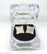 Princess Stud Rose Gold Costume Earrings