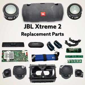100% GENUINE JBL Xtreme 2 Portable Speaker (BLACK) - REPLACEMENT PARTS lot