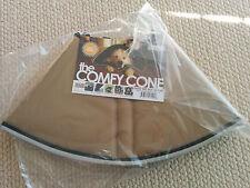 Comfy Cone Pet E-Collar, Medium, Tan