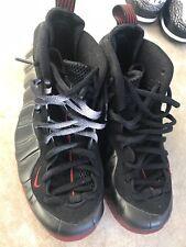 babca657bce 2010 Nike Air Foamposite One Black Varsity Red Cough Drop 314996-006 Sz 8.5