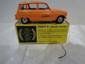 "RARE***ANCIENNE DINKY TOYS France N°518A ""RENAULT 4L DEPANNAGE AUTOROUTE"" 1970"
