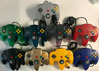 *Best* HIGH QUALITY New Controllers for Nintendo 64 by TeknoGame! N64 GUARANTEED