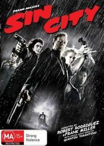 Sin City DVD Tarantino Rodriguez - REGION 4 AUST - Thriller