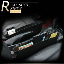 2 Pack Car Seat Gap Filler Organiser Pocket Holder Storage Box Catcher Caddy