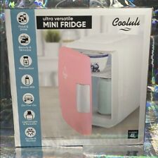 NEW IN BOX PINK COOLULI Mini BEAUTY Fridge For Skincare - Versatile & Multiuse