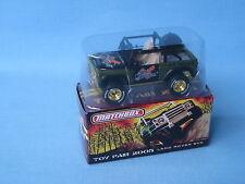 MATCHBOX land Rover 90 SVX 2005 Toy Fair EMISSIONE RARA PNEUMATICI RUOTE D'ORO