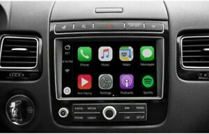 """VOLKSWAGEN VW WIRELESS APPLE CARPLAY/ANDROID AUTO 2010-17 TOUAREG 8.0"""" INCL INST"""
