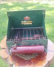 Vintage American Kampkook 2-Burner Camp Stove ~ Gas Machine Co. Model 2522