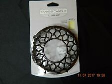 Yankee Candle Illuma-Lid Jar Candle Topper Holiday Glow New On Card