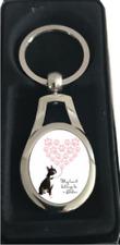 More details for boston terrier keyring gift idea
