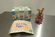1995 Enesco This Little Piggy #145785 Let There be Pigs on Earth Figurine Mib