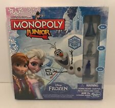 Monopoly Junior Disney Frozen Board Game NEW & Sealed