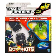Transformers Bot Tiros Triple Pack Nemesis Prime Megatron & Figuras de tormentas de ácido