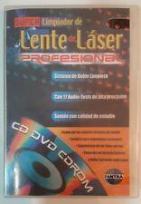 Super limpiador limpia Lente Laser Profesional - CD DVD CDROM - Doble limpieza
