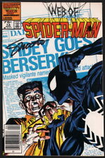 Web of Spiderman #13 SIGNED by Marvel Comics Editor In Chief Jim Shooter