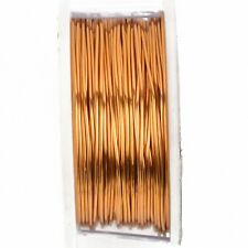 Vintage Bronze Color Wire Beadsmith 22 gauge 15yd Spool 41518 Round