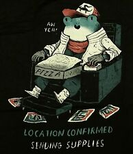 """""""Location Confirmed, Sending Supplies"""" Slippy Toad Men's Large Shirt Theyetee"""