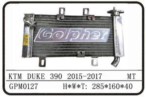 KTM 390 DUKE 15-17 PREMIUM POLISHED ALLOY RADIATOR