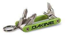 Dakine Snowboard Tools - Multi Tool - Ski Tool, Key Ring Mini Tool