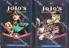 Jojo's Bizarre Adventure: Stardust Crusaders (Part 3) HC (Vol.1 - 2) Eng GNs NEW
