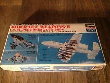 VINTAGE BOX ART 1/72 WEAPONS II HASEGAWA X72-2