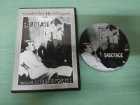 SABOTAJE ALFRED HITCHCOCK SYLVIA SIDNEY OSCAR HOMOLKA DVD ESPAÑOL ENGLISH