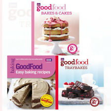 Good Food Collection 3 Books Set Traybakes ,Easy Baking Recipes & Bakes & Cakes