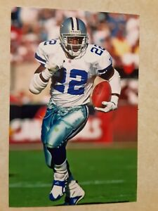 Emmitt Smith Cowboys Football 4x6 Game Photo Picture Card