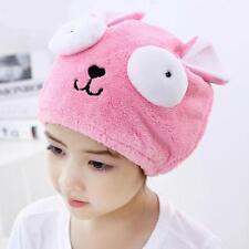 Hair Hat Towel Dry Turban Wrap Women Drying Caps Spa Bath Cap Cute Shower Velvet