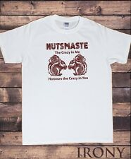 Men's Top Nutsmaste Squirrel 'crazy in me honours the crazy in you' Print TS1109