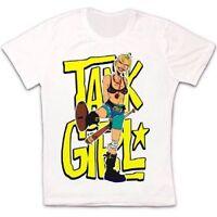 Tank Girl Comc Baseball Funny Kick Retro Vintage Hipster Unisex T Shirt 1599