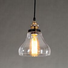 Glass Pendant Light Bar Lamp Bedroom Chandelier Lighting Kitchen Ceiling Lights