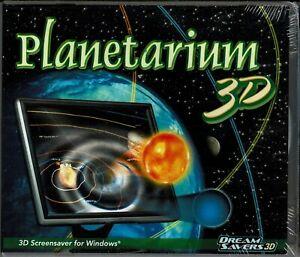 Planetarium 3D Pc Brand New Win7 Vista XP Rings of Saturn Big Dipper Milky Way