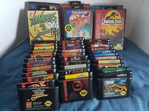 Buy 3 Get 4th 50% OFF!!! Sega Genesis Game Lot Pick & Choose Many Titles