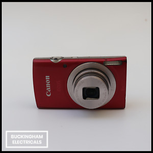Canon IXUS 185 20MP 8x Optical Zoom Compact Digital Camera - Red