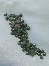 68 Green Moss Agate Cabochon Stones