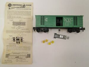 American Flyer 25081 NYC Hay Ejector w/ Trip, hay bails, Instructions NO RESERVE