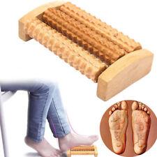 Wooden Feet Roller Wood Foot Care Massage Reflexology Relax Stress Relieve Hot