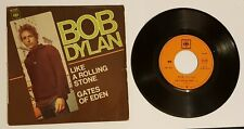 """BOB DYLAN """"LIKE A ROLLING STONE"""" FRANCE PS 1965 EP 6107"""