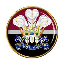 10th Royal Hussars (Prince of Wales's Own), British Army Pin Badge