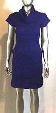 NWT Women's INC Sweater dresss with high neck Size L Col Purple Retail $80