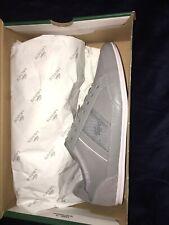 Lacoste Chaymon Mens Sneakers Grey/White Size 12 Nwt